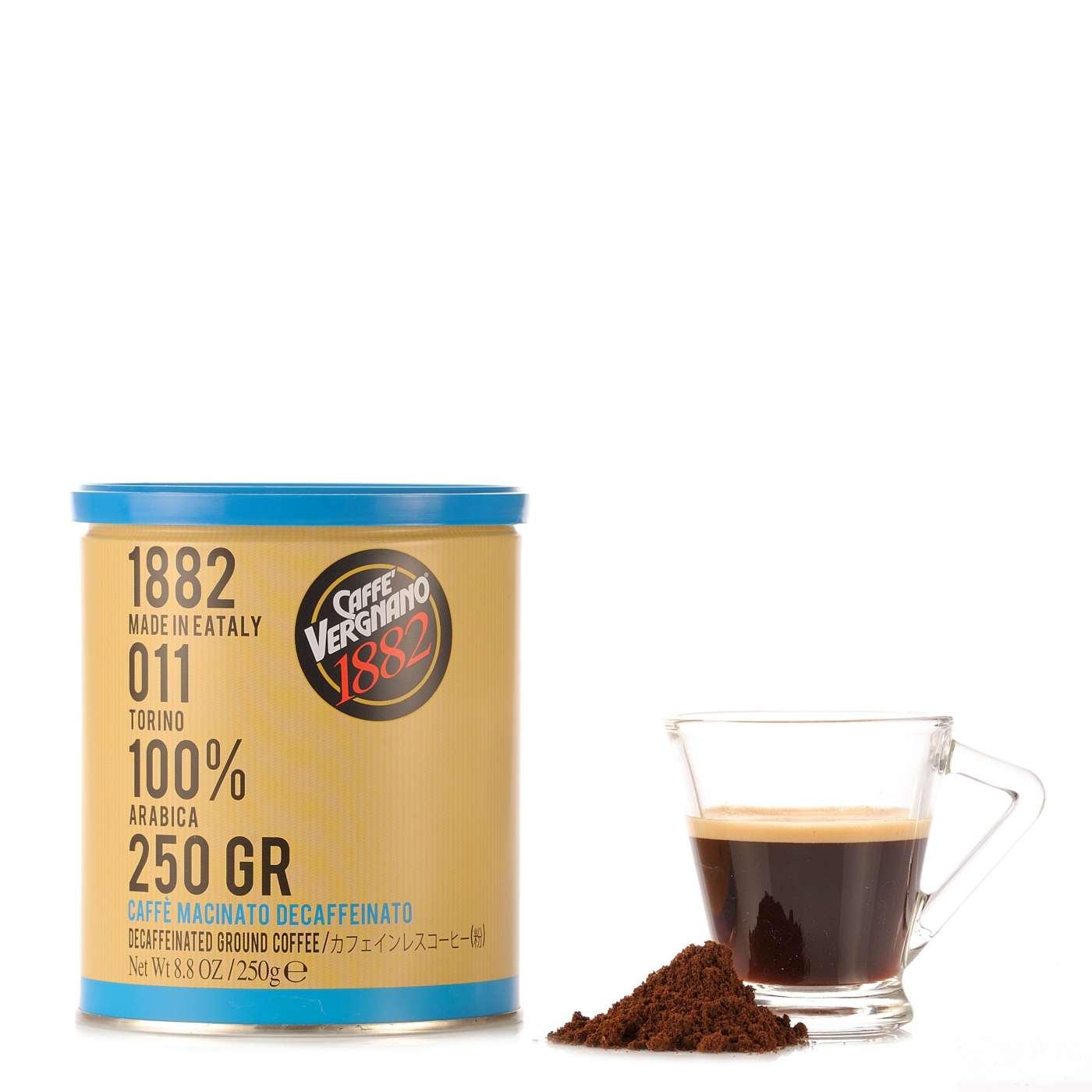 Vergnano Caffè Macinato Decaffeinato 250g