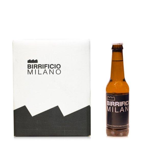 Confezione 4 bottiglie Birrificio Milano 4x0,33l