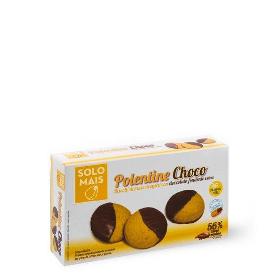Polentine Choco fondente extra 115g