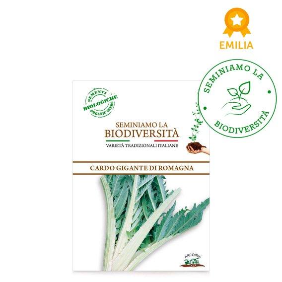 Semi Bio Cardo gigante di Romagna r 2g