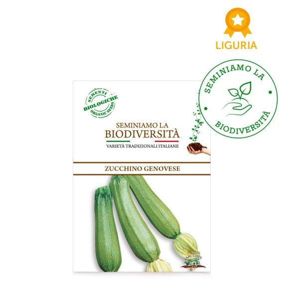 Semi Bio Zucchino Genovese r 3g
