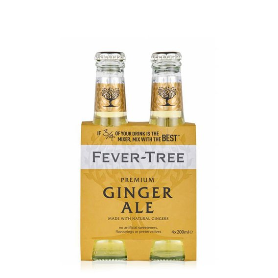 Ginger Ale 4x200ml