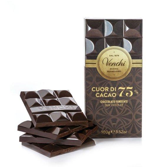 Tavoletta Cuor di Cacao 75% 100g
