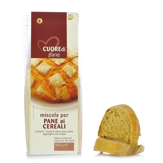 Miscela per Pane ai Cereali 0,5kg