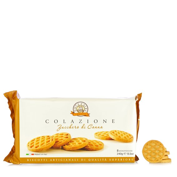 Biscotti Colazione allo Zucchero di Canna 240g