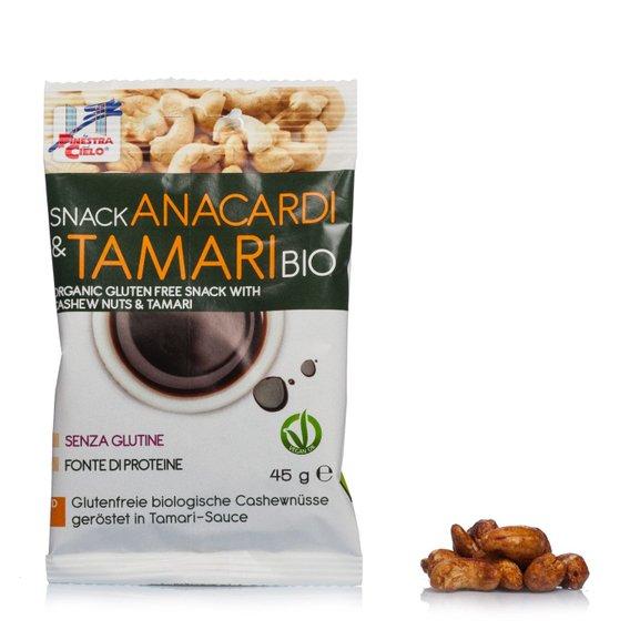 Snack Anacardi&Tamari Bio 45g