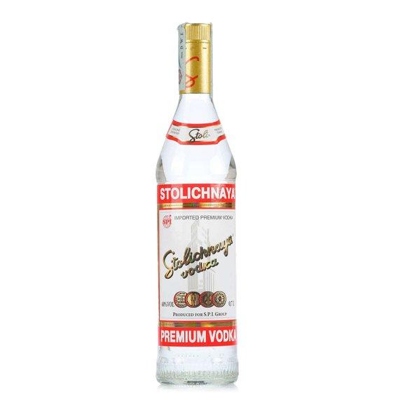 Vodka Stolichnaya Red Label 0,75l 0,75l