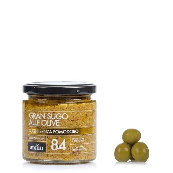 Gran Sugo alle Olive 200g