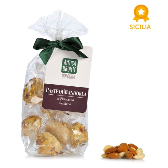 Paste di Mandorla al Pistacchio Siciliano 150g