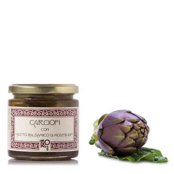 Carciofi con Aceto Balsamico IGP  210g