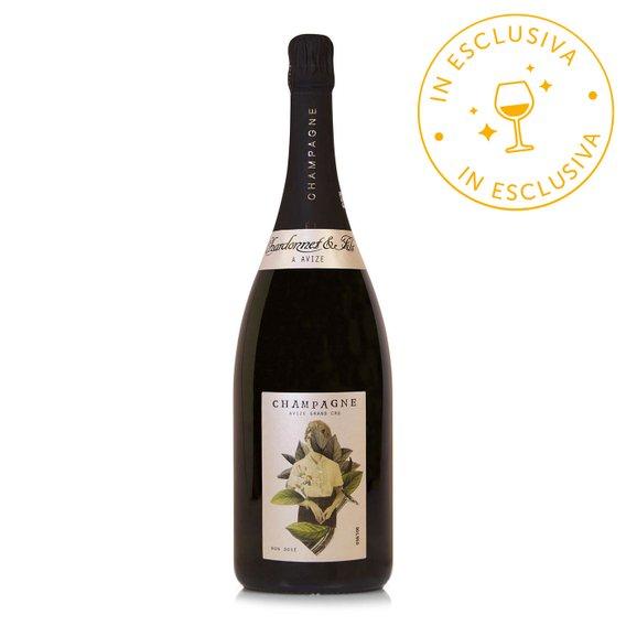 Champagne Blanc de Blanc Avize Grand Cru Magnum
