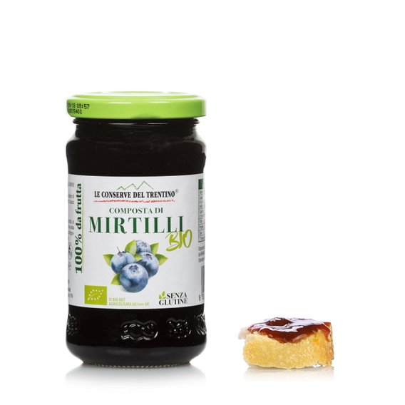 Composta bio di mirtilli 250g