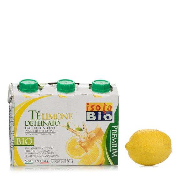 Tè al Limone Deteinato 200ml 3 pz