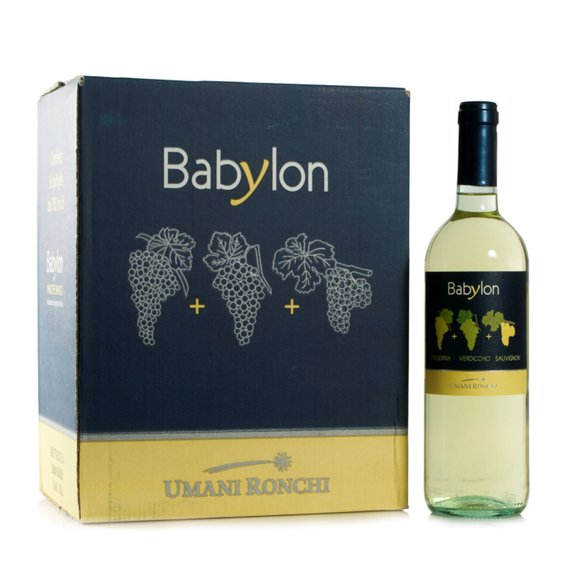 Kit 6 Babylon Bianco  0,75l