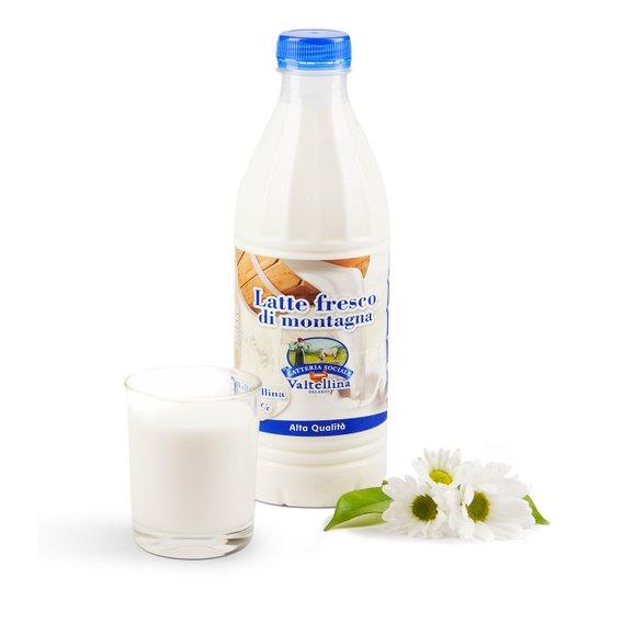 Latte fresco pastorizzato intero 1l