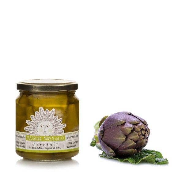 Carciofini in olio extravergine di oliva 280g