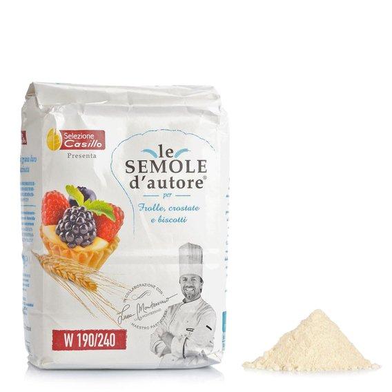 Semola di Grano Duro per Frolle Crostate Biscotti 500g