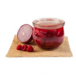 Cipolla rossa sottaceto al lampone 300g