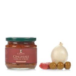 Cinghiale Con le Olive 330g