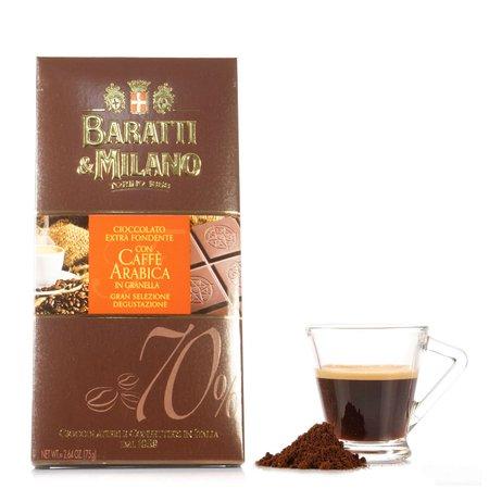 Tavoletta Fondente Extra Caffè Arabica 75g