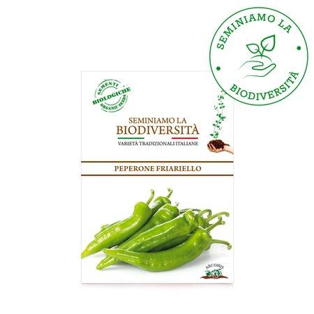 Semi Bio Peperone Friariello 0,5g