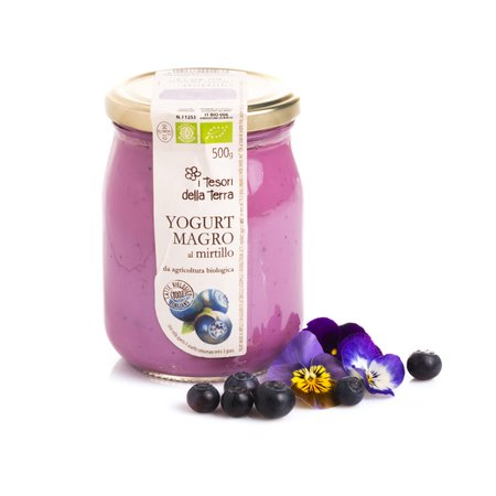 Yogurt Magro al Mirtillo 500g
