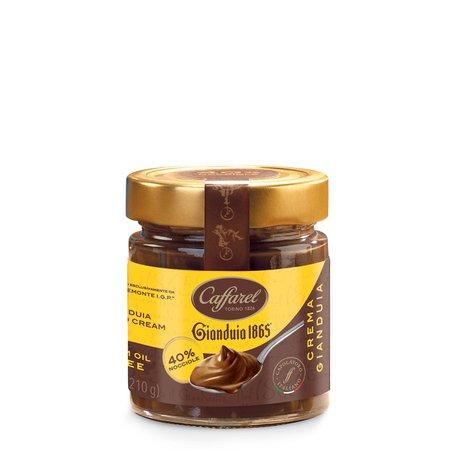 Crema Gianduia 40% Nocciole Piemonte IGP  210g