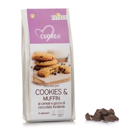Miscela Cookies e Muffin ai cereali e gocce di cioccolato 400g