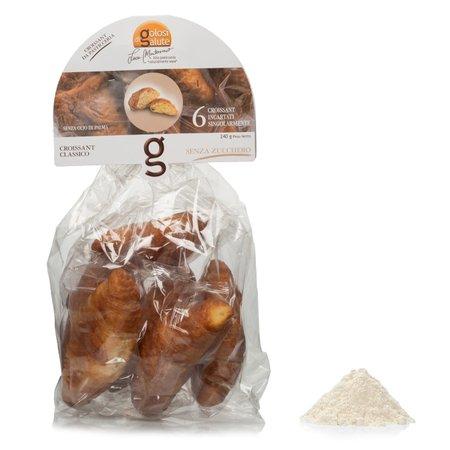 Croissant Classici Senza Zucchero 6 Pezzi 240g