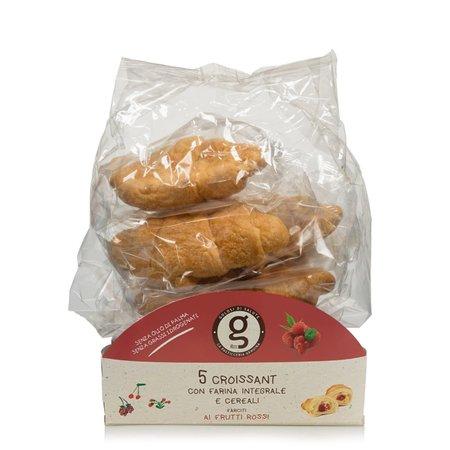 Croissant Integrali Frutti Rossi 5 Pezzi 200g