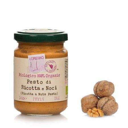 Pesto Ricotta e Noci 140g