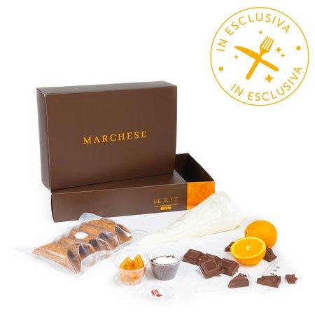 Kit Carlo Magno Cioccolato e Arancia Candita 5 Cialde