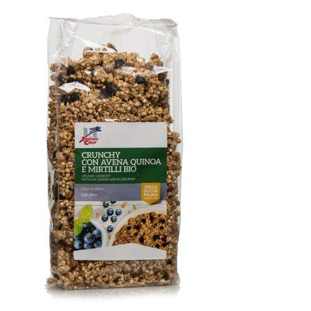 Crunchy Avena Quinoa Mirtillo Bio 375g