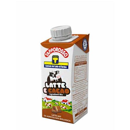 Latte Cacao Bio UHT Tapporosso  200ml