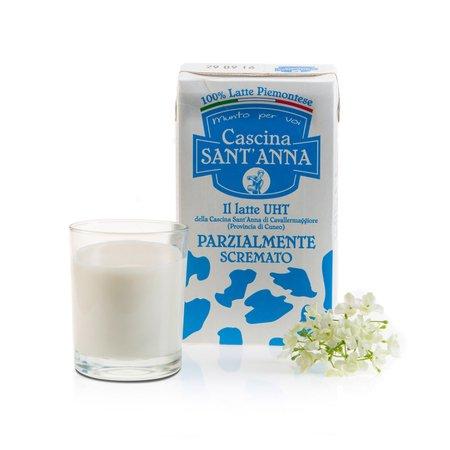 Latte UHT Parzialmente Scremato 1l