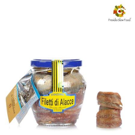 Filetti Alacce in Olio Extravergine di Oliva 200g