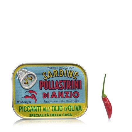 Sardine piccanti olio d'oliva 100g