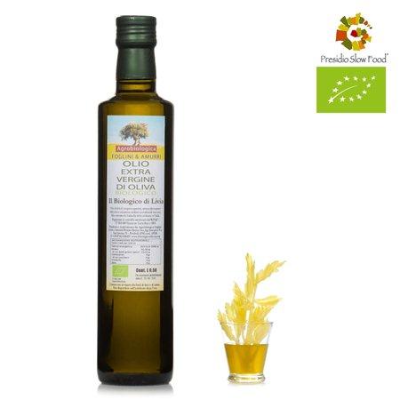 Olio extravergine di oliva bio di Livia 0,5l