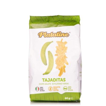 Tajaditas Chips di Platano Verde 60g