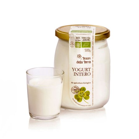 Yogurt Bianco Intero Bio 500ml