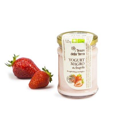 Yogurt Magro alla Fragola Bio 125g