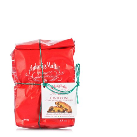 Cantuccini al cioccolato Fondente 250g