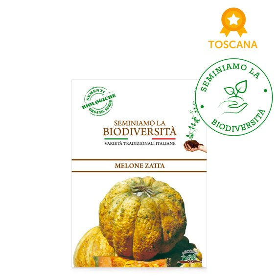 Semi Bio Melone Zatta 2gr