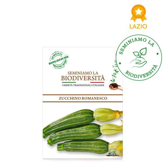 Semi Bio Zucchino Romanesco r 3g