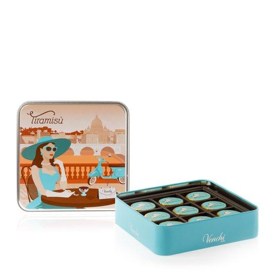 Cofanetto in Latta Cioccolatini Tiramisù 100g