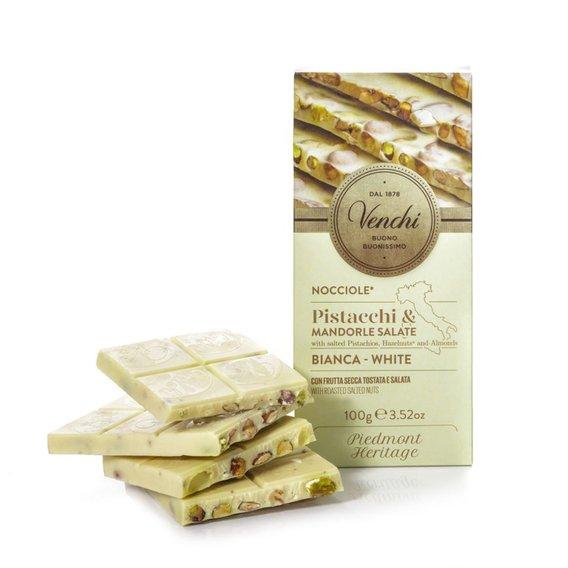 Tavoletta Cioccolato Bianco Salata 100g