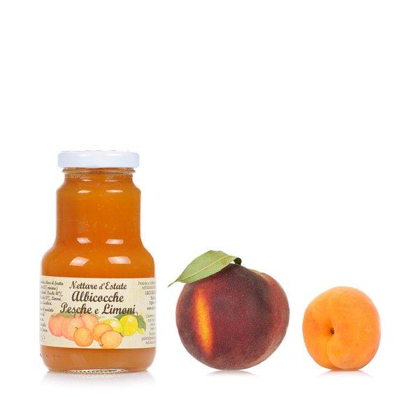 Nettare di Albicocche, Pesche e Limoni 200ml