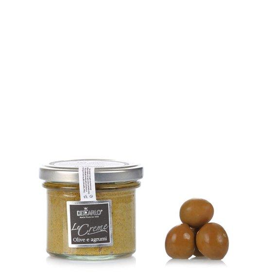 Crema Di Olive Verdi agli Agrumi 100g