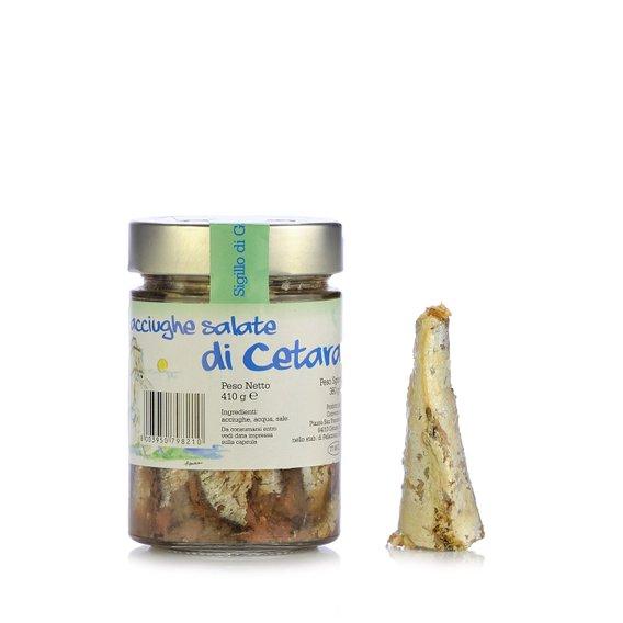 Acciughe Salate di Cetara 410g