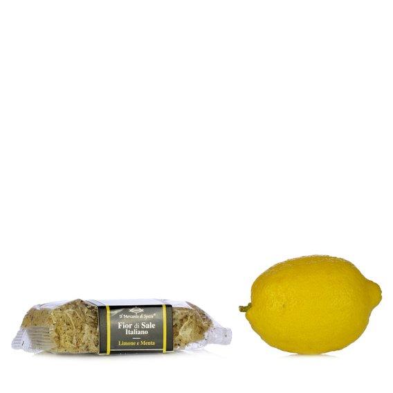 Fior di Sale Limone e Menta 160g